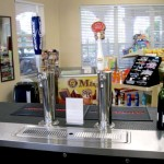 The Snack Bar in the Sundry Shop sells food items and cold beverages