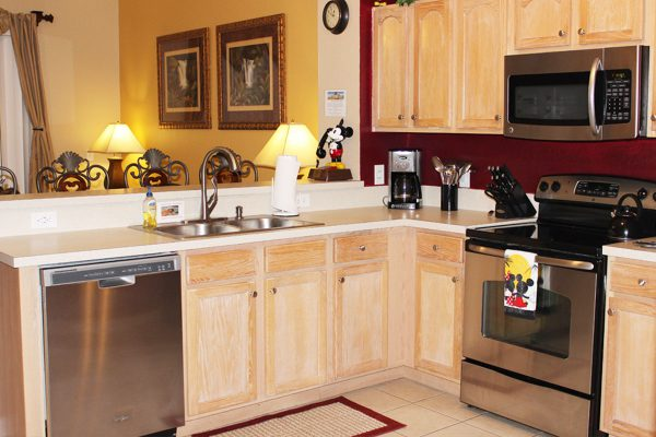 Our newly remodeled kitchen has everything you need to prepare a quick snack or a gourmet meal