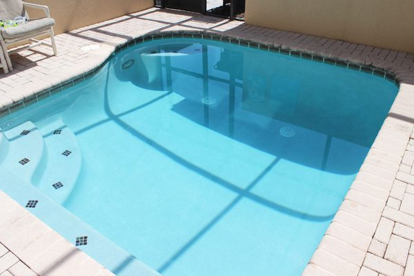 Enjoy your own private pool and spa 24 x 7 right out the patio doors
